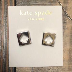 Kate Spade Silver Earrings